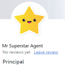 Real estate agent review